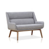 Buy Woo Legged Grey Commercial Lounge 2-Seater Sofa | 212Concept