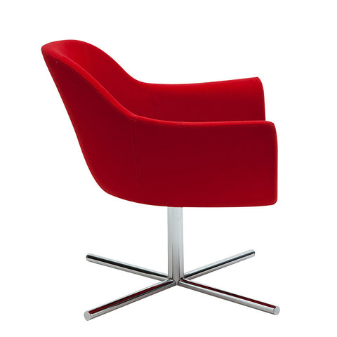 Buy Modern Lounge Room Curvy Commercial Swivel Chair | 212Concept