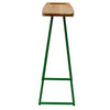 Maple wood kitchen stool
