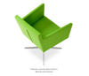 Buy Box Shaped Armchair with Swivel Option | 212Concept