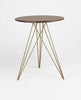 Buy Modern Hudson Side Table in Gold Finish Steel Legs | 212Concept