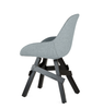 Buy Industrial Wood Legged Upholstered Chair | 212Concept