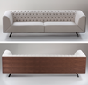 Buy Rich Plywood Wood Frame Luxury Sofa | 212Concept