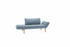 Blue sleeper sofa