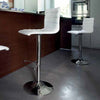 Buy Upholstered Solid Stainless Steel Piston Stool | 212Concept
