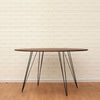Buy Steel Legged Circle Williams Dining Table | 212Concept