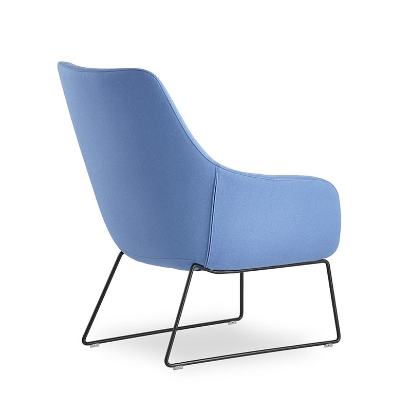 Buy Lamy Sled Base Lounge Chair For Workspace Lounge Spaces | 212Concept