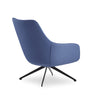 Buy Scandinavian Designed Curvy Lamy Swivel Lounge Chair | 212Concept