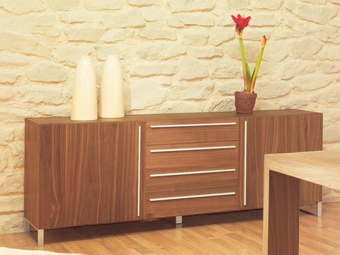 Buy Italian Wooden Walnut Sideboard | 212Concept