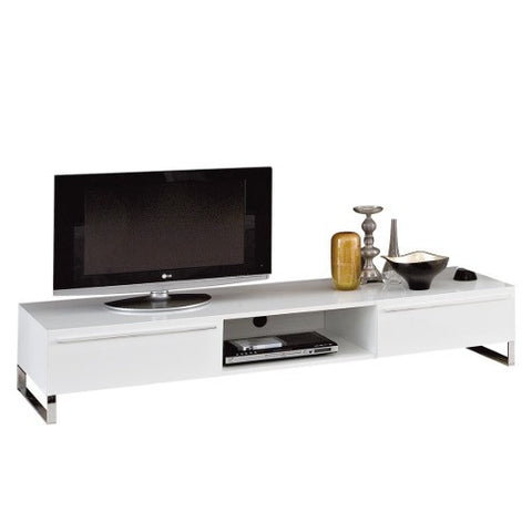 Shop For White Lacquered Modern TV Set Unit | 212Concept