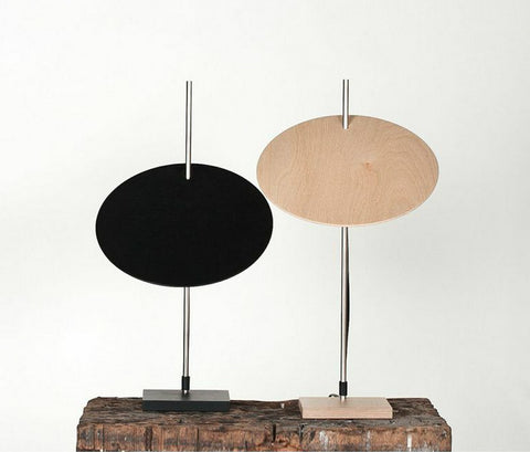 Modern Round Plywood Table Lamp | 212Concept