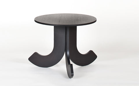 Shop For Petite Wooden Side Table in Black | 212Concept