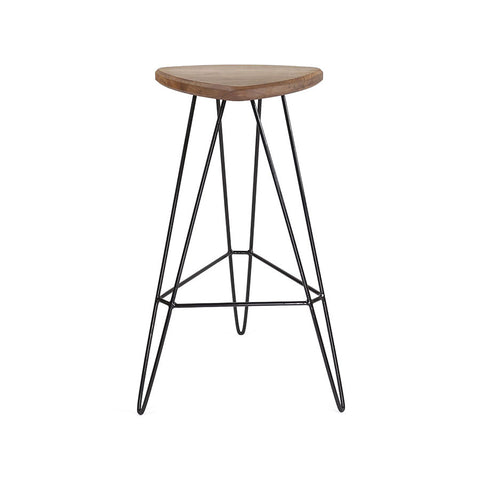 Buy Steel Leg Wooden Madison Barstool | 212Concept
