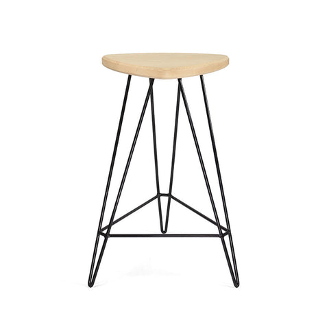 Buy Modern Industrial Wood Madison Stool | 212Concept