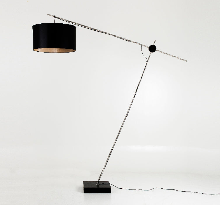 Modern Plywood Black Floor Light By Paulo Ramunni | 212Concept