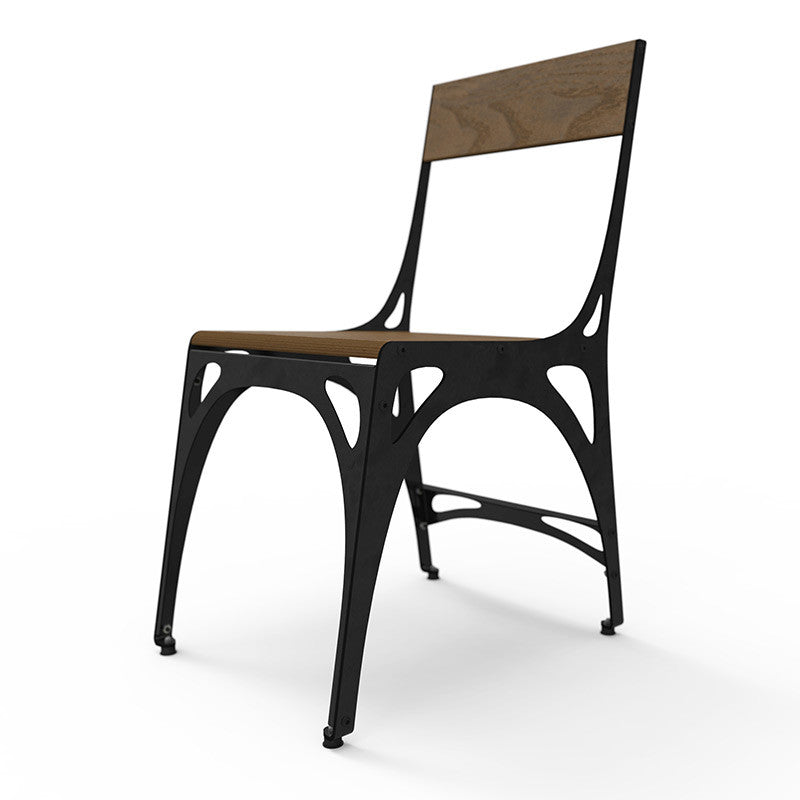 Buy Industrial Style Dining Chair | Vintage Metal Side Chair Online |  212Concept