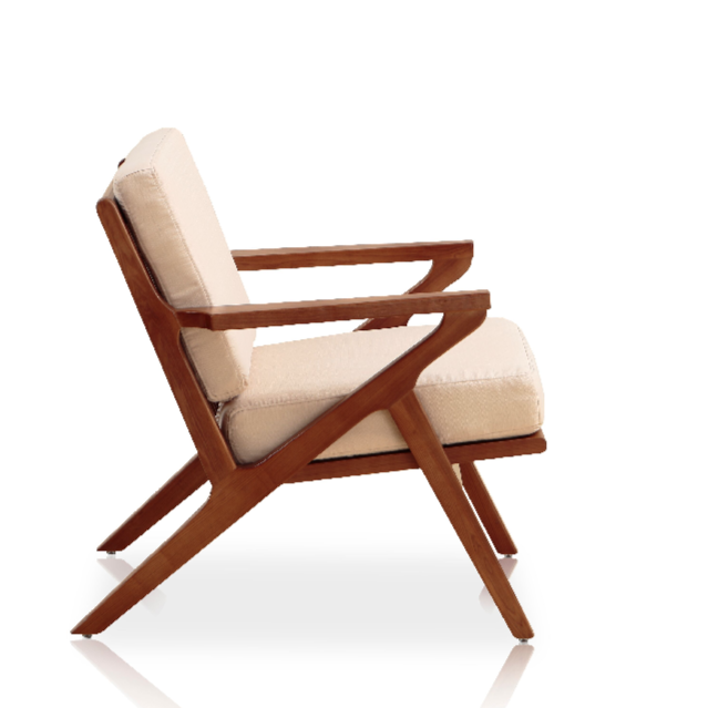sc 1 st  212 Concept & Buy Solid Ash Wood Frame Martelle Lounge Chair in Fabric | 212Concept