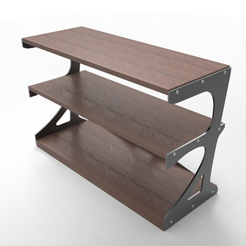 Industrial Steel Frame Shelf