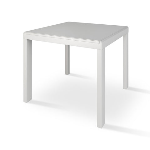 Buy Modern White Glass Extendable sohoConcept Table | 212Concept