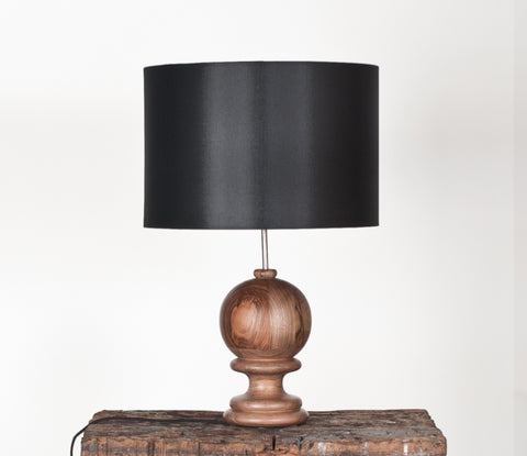 Buy Modern Classic Walnut Wood Table Lamp | 212Concept