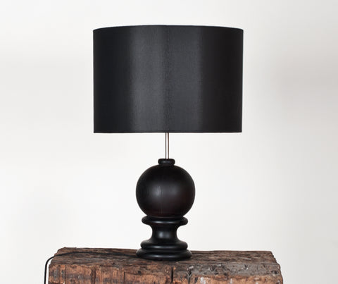 Buy Modern Classic Black Wooden Table Lamp | 212Concept