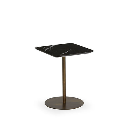 Buy Rectangular Black Marble Top Noa Side Table | 212Concept