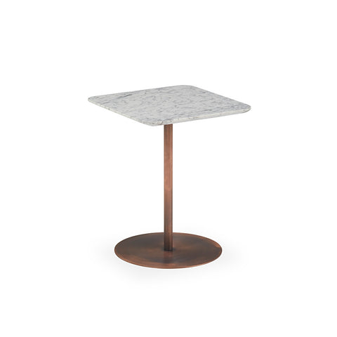 Buy Rectangular White Marble Top Noa Side Table | 212Concept