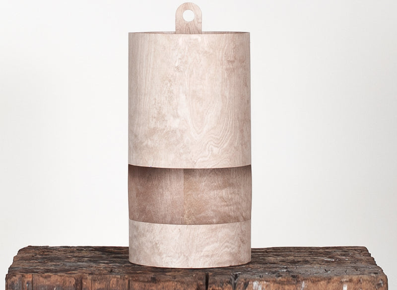 Buy Thin Plywood Cylinder Shaped Table Lamp | 212Concept