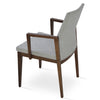 Buy Solid Wood Frame Commercial Pasha Wood Armchair | 212Concept