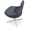 Shop For Grey Wool Patara 4-Star Swivel Chair | 212Concept