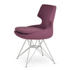 Buy Mid-Century Modern Patara Chair with Tower Shaped Base | 212Concept