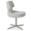 Shop For Silver Patara 4-Star Swivel Chair | 212Concept