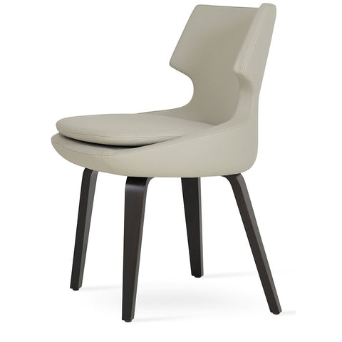 Buy Curvy Modern Plywood 4-Legged Patara Dining Chair | 212Concept