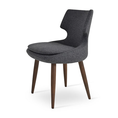 Buy Curvy Modern Wood Legged Patara Chair | 212Concept