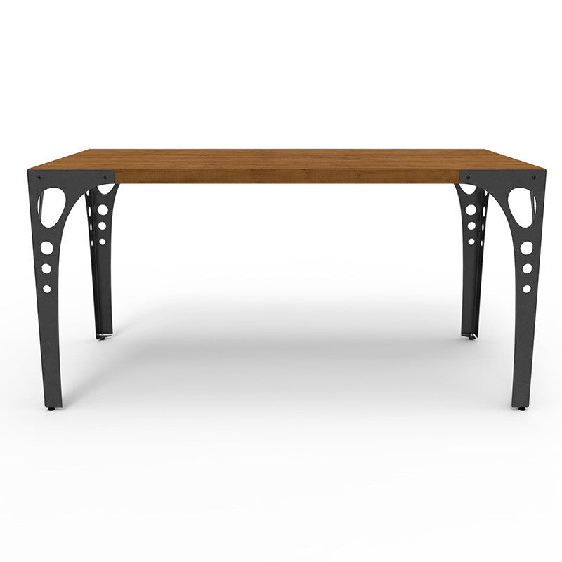 Dining Table with Steel Frame