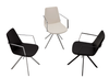Modern Pera arm chairs
