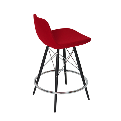 Pera MW Counter Stool Red Wool