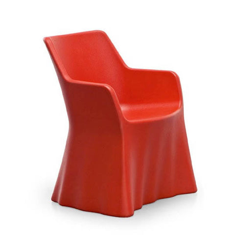 Buy Red Whimsical Modern Form Phantom Outdoor Armchair | 212Concept