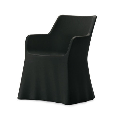 Buy Black Whimsical Modern Form Phantom Outdoor Armchair | 212Concept