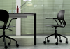 Buy Curvy Adjustable Height Option Swivel Task Chair | 212Concept