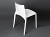 Buy Geometric Shaped Stackable White Outdoor Kristalia Chair | 212Concept