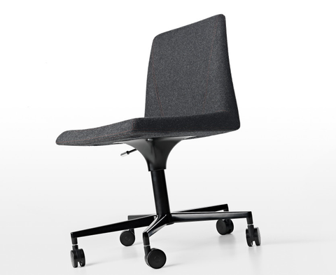 Buy Adjustable Hydraulic Wide Italian Armless Office Chair | 212Concept