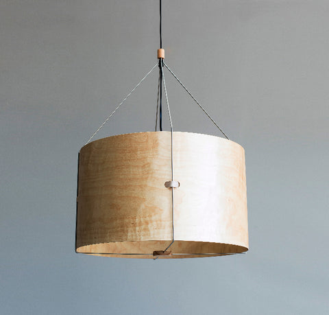 Buy Round Oak Contemporary Suspension Light | 212Concept