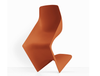 Buy Single Surface Cantilever Pulp Outdoor Orange Armchair | 212Concept