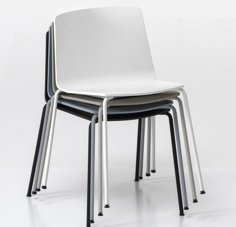 Buy Stackable Minimal Upholstered slim Chair | 212Concept