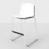 Buy Ergonomic Light Weight Stackable Rama Slide Base Stool | 212Concept