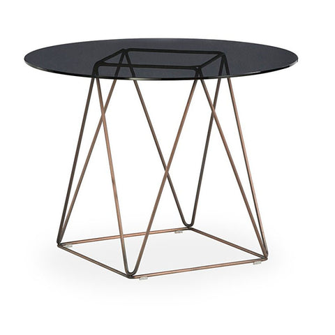 Buy Modern Glass Round Ray Dining Restaurant & Cafe Table | 212Concept