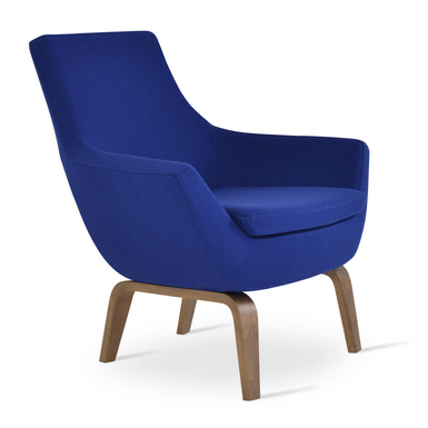 Buy Mid-Century Modern Wooden Lounge Chair | 212Concept