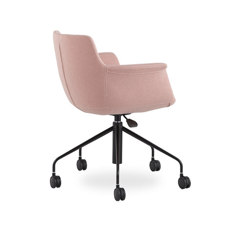 Buy Modern 5-Star Castor Base Rego Office Chair in Pink | 212Concept