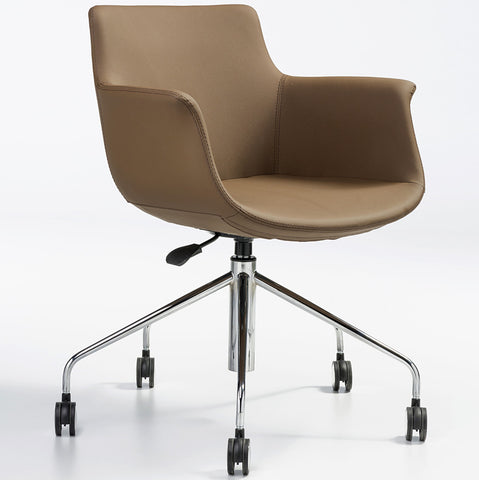 Buy Leather Modern Classic Rego Office Chair | 212Concept